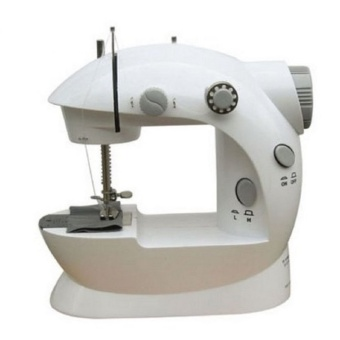 Double Thread Sewing Machine (White/Gray) - picture 2