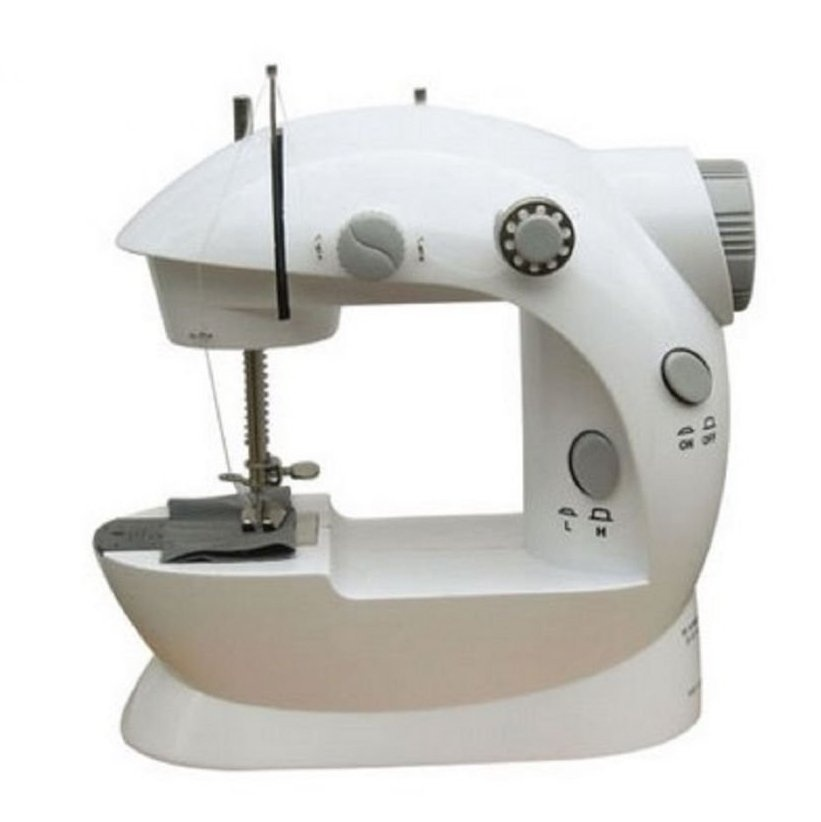 Double Thread Sewing Machine (White/Gray) product preview, discount at cheapest price