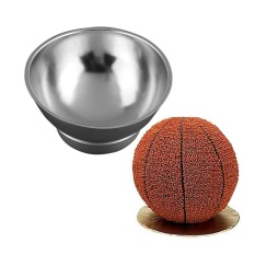 Durable Bake Tools 3d Sport Half Ball Sphere Cake Pan Baking Mold Bakeware Tin Kitchen Mould Tool A - Intl By Simida Limited.