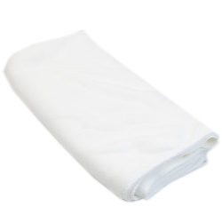 Durable Microfiber Fast Drying Bath Towel (White) (Intl)