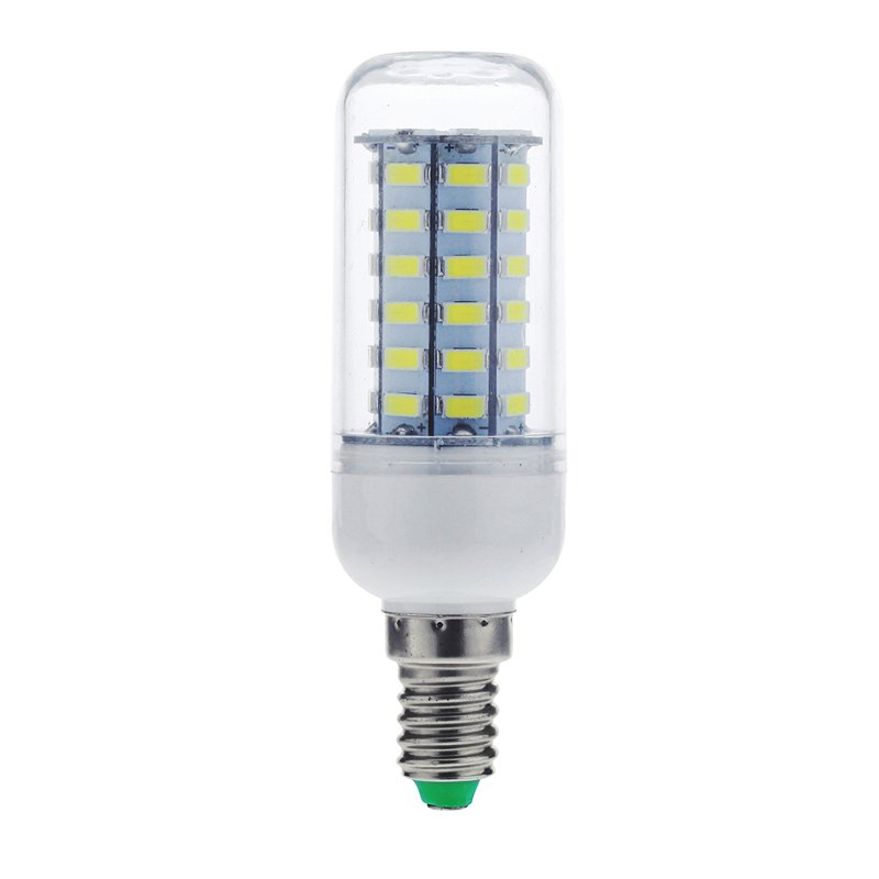 E14 12W 56 LEDS 5730 Chip SMD Corn Light Bulb Lamp 110-130V (Pure White) product preview, discount at cheapest price