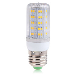 HKS E27 7W 36SMD 5730 5630 Light LED Corn Lamp Bulb  Cool White AC110V (Intl)