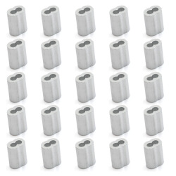 eMylo M3 8-type Clamp Sleeve Clip Set of 25-Pieces