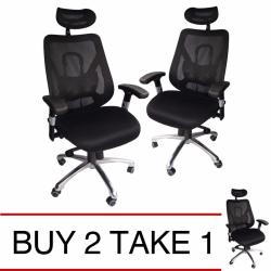 Ergodynamic iMassage Massage Office Chair (Black) Buy 2 Take 1