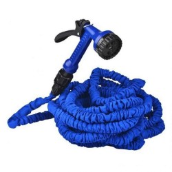 Keimav Expandable Garden Hose up to 125 ft (Blue)
