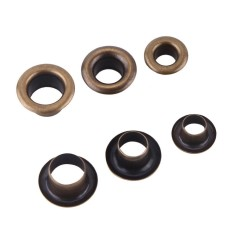 Eyelets with Washer Shoes Belts Bags Leather Pack of 100 pcs Sets(Inner Diameter 6mm