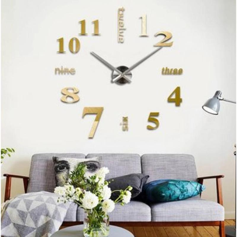Clock for sale large clocks prices brands review in philippines fashion home decoration 3d diy wall clockdiy 3d art large acrylic mirror wall clock gumiabroncs Gallery