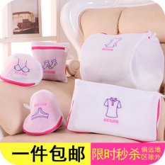 Five Pieces Set Fine Mesh Thick Laundry Bag Bags Suit Bra Underwear Only Protective Laundry Bag Bags Machine Wash Net Pocket Clothing Sorting Bag Bags By Taobao Collection.