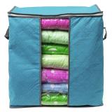 Foldable Clothes Pillow Blanket Closet Underbed Storage Bag Blue-S   Lazada PH