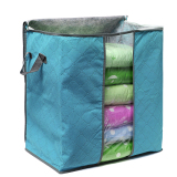 Foldable Clothes Pillow Blanket Closet Underbed Storage Bag Orange-S   Lazada PH
