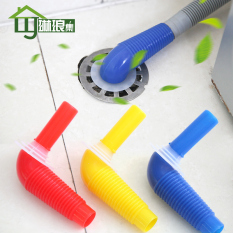 Gem Set Silicone Floor Drain Elbow Pick up Washing Machine Hose Special Connectors Transfer Tube Drainage Pipe Connector Philippines