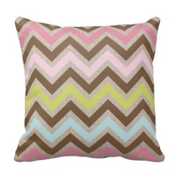 Geometric Wave One Side Printing Pillow Case Cover(Multicolor)