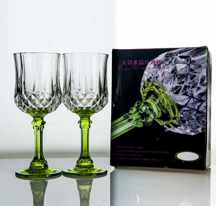 Gift Box Wine Glass Goblet Champagne Glasses Lead Free Crystal Glass Gift Large Size Wine Glass