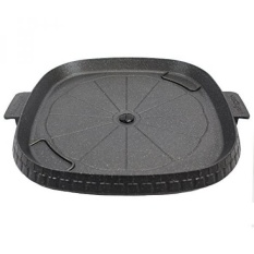 GPL/ Stove Top Smokeless Grill with Oil Drain Outlet, Non-Stick Marble Coating Surface Indoor BBQ, Korean BBQ, Die Casting Aluminum Stove Top Indoor/Outdoor ...