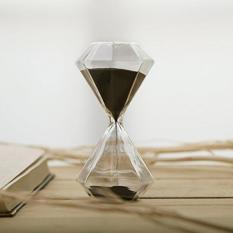 Graces Dawn Diamond Glass Hourglass 30 Minutes With (black) By Galleon.ph.