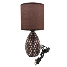 The cheapest price grand living ceramic table lamp shade brown 972 grand living ceramic table lamp shade brown 972 mozeypictures Choice Image