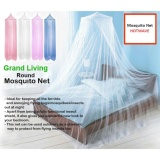 Grand Living Round Mosquito net (Pink) image on snachetto.com