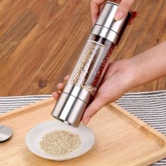 Grinder Pepper Garlic Manual Mill Stainless Steel Seasoning Powder Grinder - Intl By All About Home.