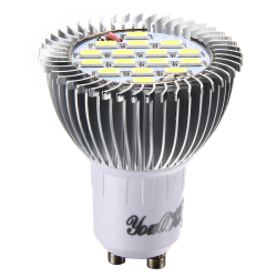 GU10 8W 750LM 6000K 16-SMD5630 White Light LED Bulb Lamp(AC220V) (Intl)