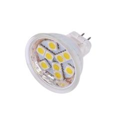 GU4 9SMD LED Spotlight Light Bulb Lamp Lighting Accessory Warm White/White 12V - intl