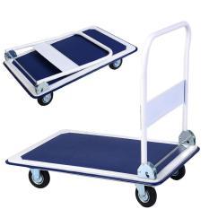 Hand Truck Trolley Push Cart 150kg Capacity By Gotenco.