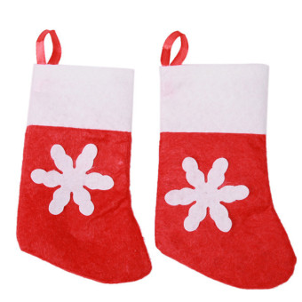 Hanyu Festival Decoration Socks Christmas Socks 12 Pieces Red