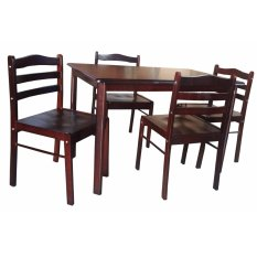 Hapihomes Starter Banner 4-Seater Dining Set  sc 1 st  Lazada Philippines & Dining Set for sale - Dining Table u0026 Chair Set prices brands ...