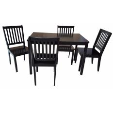 Hapihomes Yaell 4 Seater Dining Set