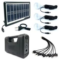 Happy Choice Gd-8017 Plus Solar Lighting System Kit (black) By Loveeverday.