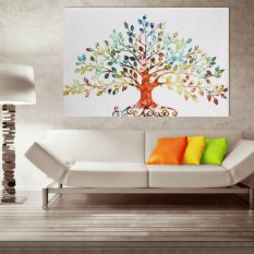 HD Canvas Tree Modern Home Wall Decor Art Oil Painting Picture Print No  Frame