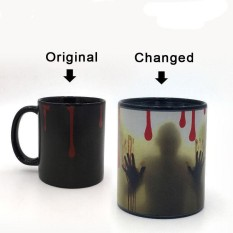 Heat Changing Mug Sensitive Walking Dead Porcelain Color Coffee Cup Cool Intl