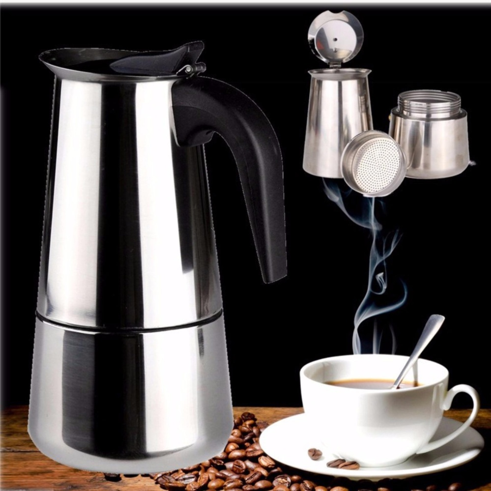Coffee Storage For Sale Storing Prices Brands Review In Syphon Maker Electric Heavy Duty Stainless Stovetop Espresso 6cups Capacity