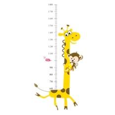 Height Stickers Chart Wall Decals Cartoon Nursery Children Kids Room Decor  Art Poster #2