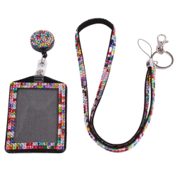 HengSong Hot Style Card Set Certificate Hang Rope Multicolor