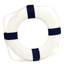 HengSong Life Ring Boat Decors (White)