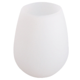 HengSong Red Wine Glass Cocktail Cup Silicon Teacup White - thumbnail 1