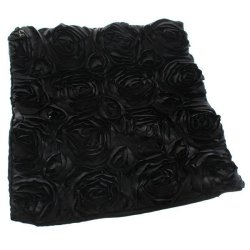 Hengsong Rose Pillow Case Black