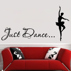 Wonderful Hequ Decorative Bedroom Home Decor Just Dance Wall Decals Ballet Dancer Wall  Sticker