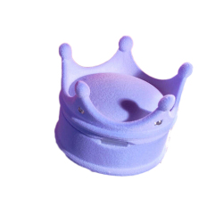 Hequ Lovely Princess Crown Shaped Jewelry Box (Blue)