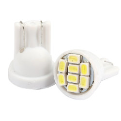 HKS 50pcs T10 8 SMD LED White Light Car Light Lamp Bulb (Intl)