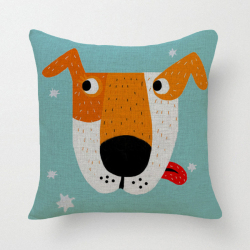 HKS Cartoon Dog Pillow Case (Blue) (Intl)