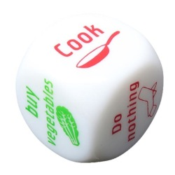 HKS Couples Families Housework Distribution Dice Game Fun (Intl)