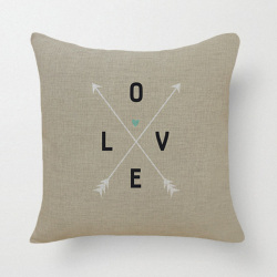 HKS Love Pillow Case (Beige) (Intl)