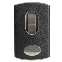 HKS Smart Slide Out Stainless Steel Pocket Business Card Holder Case Black (Intl)