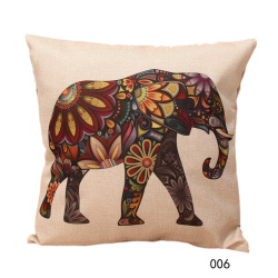 HKS Vintage Home Decor Cotton Linen Pillow Case 006 (Intl)