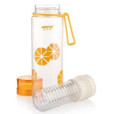 HL Summer Sports Portable Leakproof Plastic Cups Transparent Lq428hua - intl