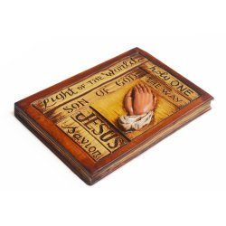 Holy Bible Plaque Ceramic Wall Decor
