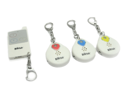 HomeSafe H-510R3 Wireless Electronic Key Finder (White)