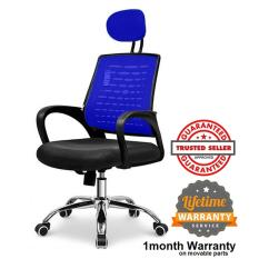 Ihome 24 09A Black Executive Mesh Office Chair