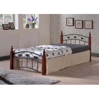 ihome Witness Wooden Post Bed